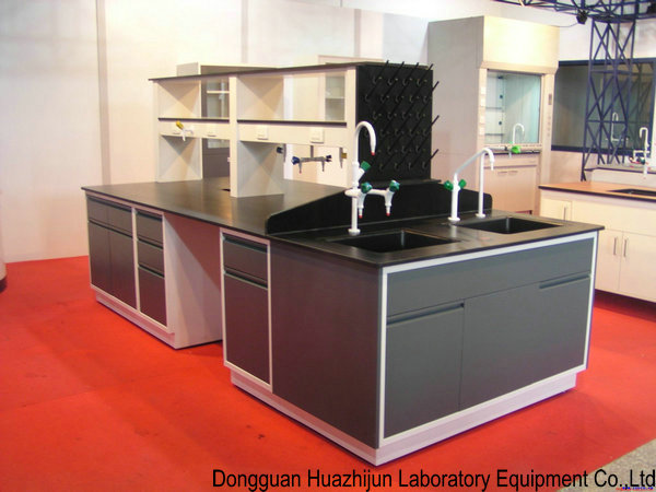 Customized All Steel Lab Furniture , Chemical Resist School Lab Benches