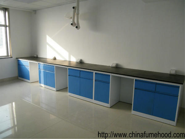 13mm Worktops Science Laboratory Furniture Workbench Chemical Resistant