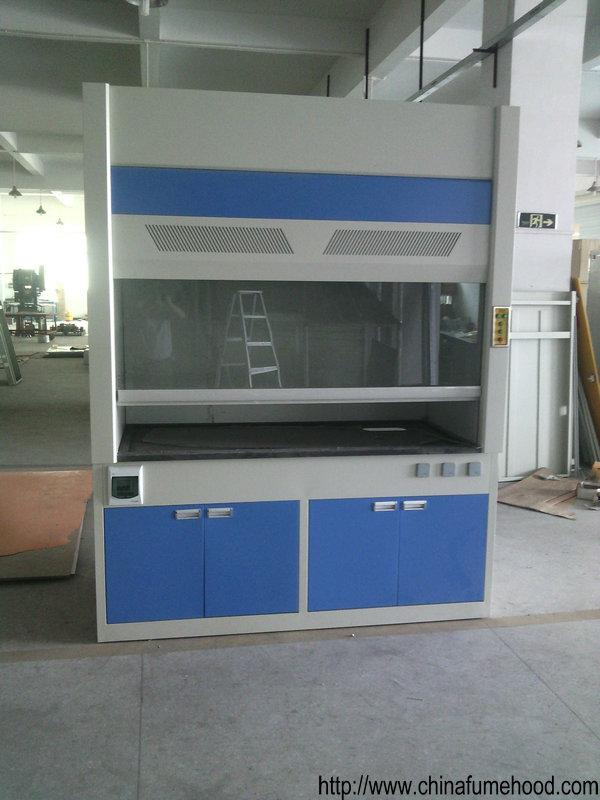 2.35M Height Floor Mounted Fume Hood Physiochemical Board Inner Liner