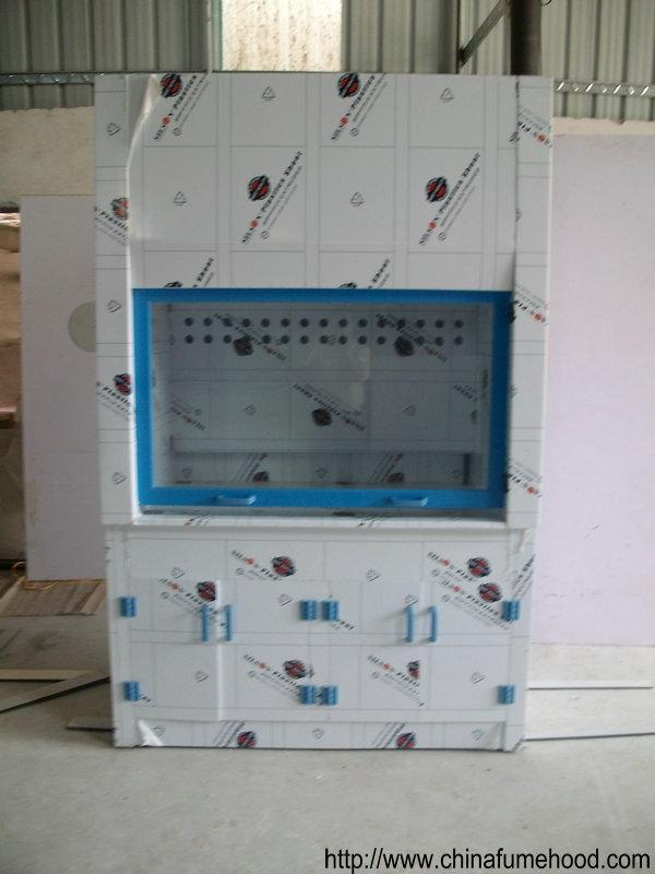 PP Structure Ductless Fume Cupboard For Chemistry Biology Physical Lab