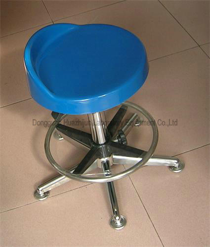 Height Adjustable Lab Chairs And Stools Cleanroom Lab