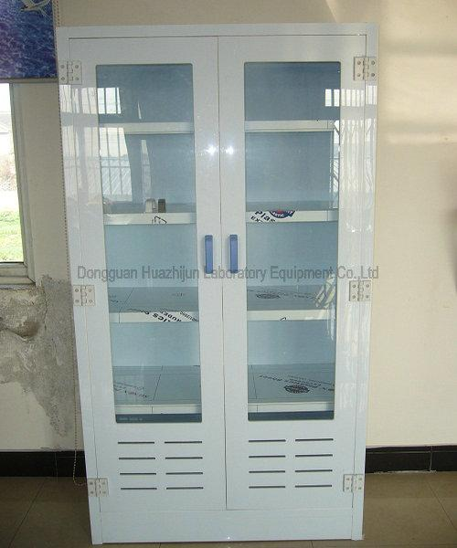 PP Laboratory Storage Cabinets , Anti - Corrosion Laboratory Cabinets With Glass Doors