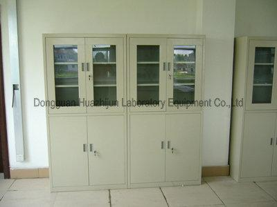 Removable Lab Chemical Storage Cabinets Galvanized Steel Body Adjustable Anchor