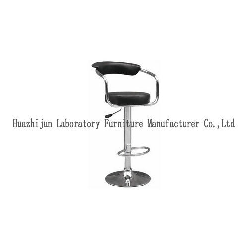 PU Surface Lab Chairs And Stools , Adjustable Height Science Lab Chairs