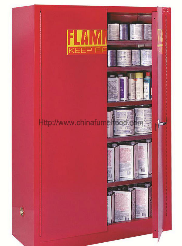 Fireproof Flammable Safety Cabinet , 150 Kg Loading Flammable Storage Containers