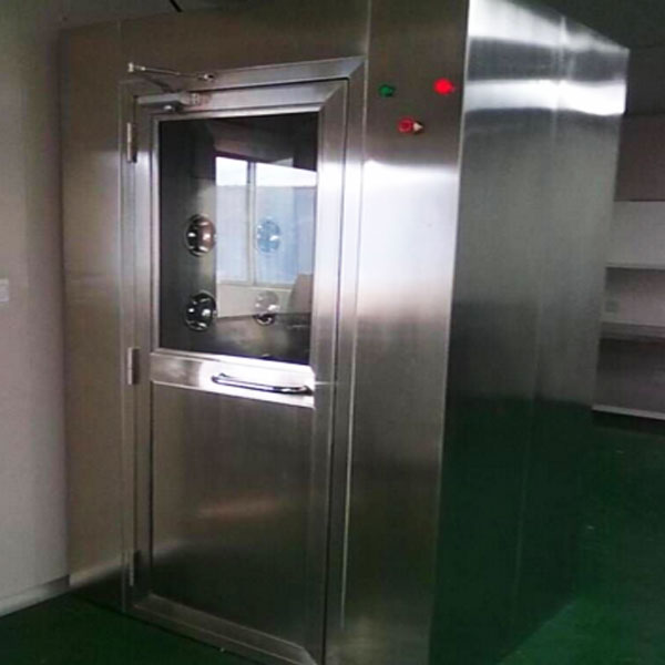 Industrial Clean Room Equipment , Simple Operation Stainless Steel Air Shower