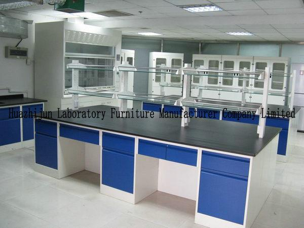 Hight Adjustable Laboratory Desk Furniture Island Bench 2
