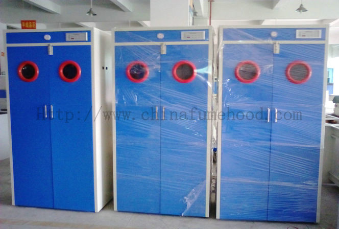 Rustproof Safe Storage Of Compressed Gas Cylinders With 5mm Visible Glass  Window