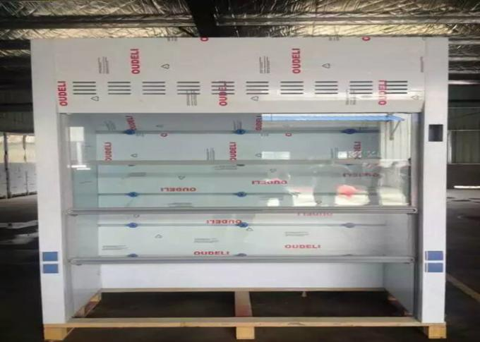 White Color PP Fume Hood Chamber PVC Board Window 5mm Thickness