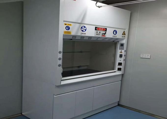 Cold Rolled Steel Fume Hood For Scientists / Laboratory Vent Hood