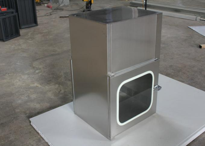 Electronic Interlock Pass Box  Clean Room Equipment/ Pass Boxes For Sales / Pass Through Box Manufacturer