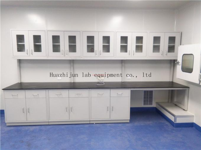 Professional Design 25.4 mm Phenolic Resin Board Steel Workbench Fume Cupboard Chemistry Lab Furniture Equipments
