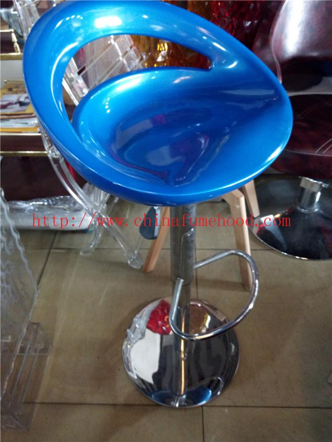 Steel Back Frame Lab Chairs And Stools , Customized Made Revolving Lab Bench Chairs