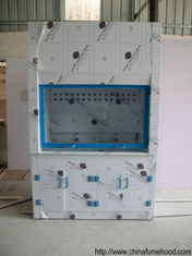 1.2/1.8/1.5m PP Fume Hood Chemical Testing Worktable 6' Ducted Type