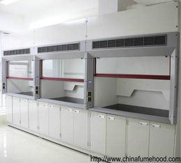 Safety Fume Hood Cupboard 1.2/1.5/1.8m Length Anti Corrosion SGS Certified