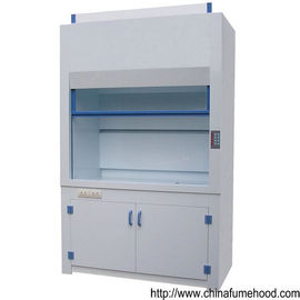 School Laboratory PP Fume Hood Adjusting Air Speed With Faucet And Sink