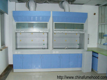 New Tech Benchtop Steel Fume Hood High Temp Resistant Tempered Glass Window