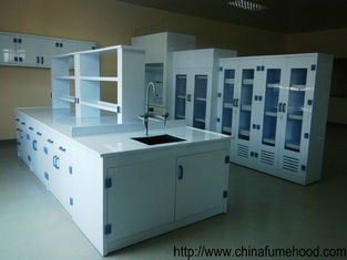 Corrosion Resistant Science Lab Furniture PP Material With Waterproof Power Socket
