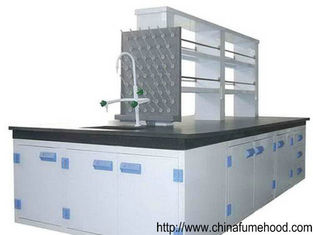 Customized Chemistry Laboratory Furniture Corrosion Resistant With PP Sink / Faucet