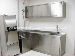General L3000mm Stainless Steel Casework Surface Passivation 1.2mm Bench Top