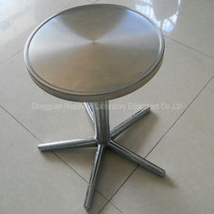 Stainless Steel Furniture Lab Seating Chairs With Removable / Fixed Foot
