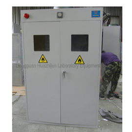 Metal Steel Laboratory Storage Cabinets , Compressed Gas Cylinder Cabinets