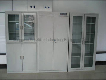 Alkali Resistant Laboratory Storage Cabinets Removable Cold - Rolled Steel Material