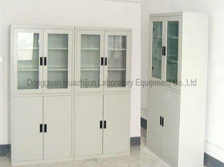 Chemical Reagent Laboratory Storage Cabinets , Metal Movable Lab Storage Shelves