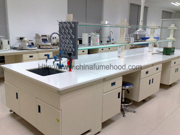 Lab Instrument Table With Reagent Rack For Healthcare Industry