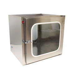 Interlock Clean Room Equipment , Smooth Wear Stainless Steel Pass Box