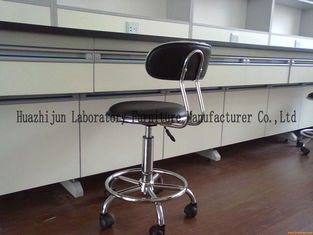 Laboratory Chairs And Stools Sat Back Adjustable 440-600mm High Scope