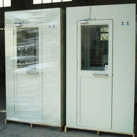 Metal Clean Room Equipment , Single Person Cleanroom Air Shower PLC Control