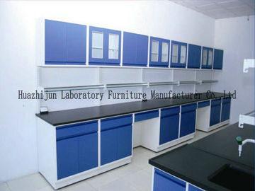 Steel Laboratory Benches With Reagent Shelf And Lab Central Bench Power Supply For Lab Use