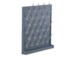 Science Lab Equipment Acid Proof Pegboard Single Face PP Drip Shelf