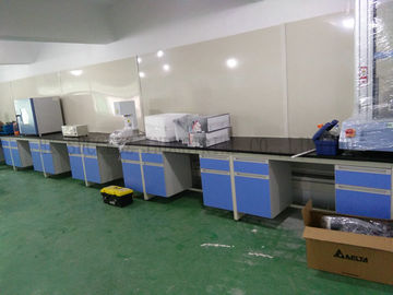 China Multi Colors Laboratory Wall Bench supplier