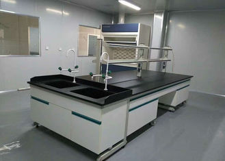 Acid / Alkali Resistant Wood Lab Furniture Phenolic / Epoxy Resin Work Top