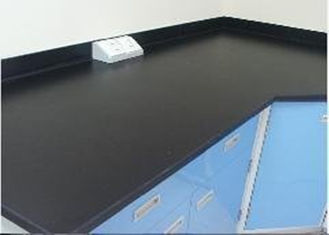 Labrotary Phenolic Workbench Top Fireproof Chemical / Scratch Resistant