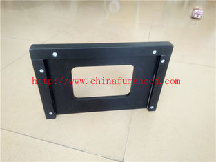 3000 L Black Laboratory Bench Top For School / Hospital / Chimecal Laboratory