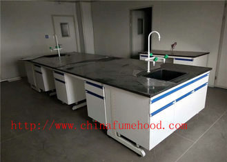 Blue Chemical Lab Cabinet  Manufacturers / Lab Casework Systems / Lab Casework For Sale