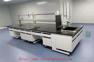 Customized Size Lab Tables Work Benches Alkali - Resistant Easy To Clean