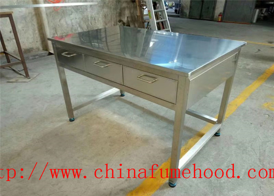 Specialized Supply China Laboratory Workbench Stainless Steel Lab Furniture For Oversea Importers and Dealers