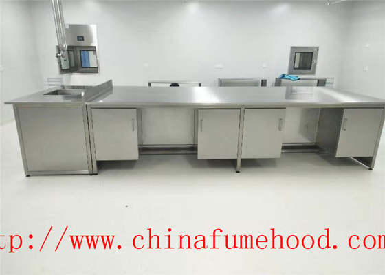 Specialized  Making Science Lab Furniture Stainless Steel Lab Furniture for Clean Room and Hospital Lab