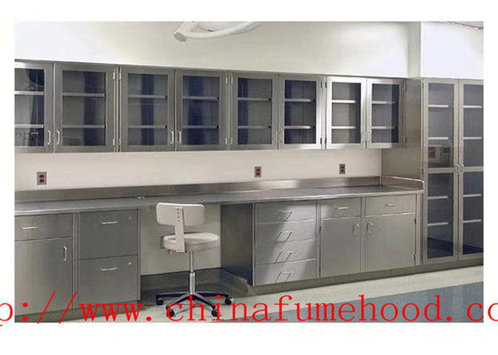Waterproof  Mdular Science Lab Workstations / Stainless Steel Casework