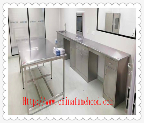 Customized Made  304 Stainless Steel Lab Cabinets / Metal Lab Casework