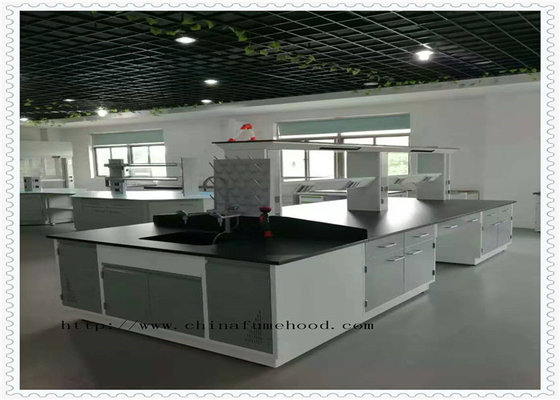 Floor Mounted Electronics Lab Furniture Resistance To Acid And Alkali