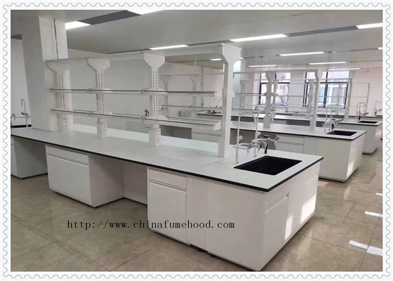 Epoxy Resin Chemistry Lab Tables Work Benches  Fireproof And Waterproof