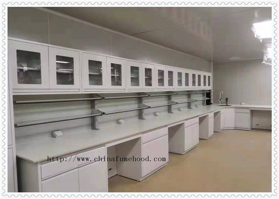 Mould - Proof  School Lab Furniture Island Wrok Bench With Sink Table