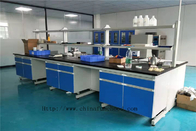 Waterproof Phenolic Resin Wood Lab Furniture Convenient Installation
