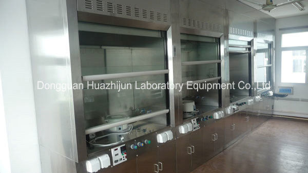 304 SS Biological Safety Cabinet Fume Hood Full View Smooth Operation Window