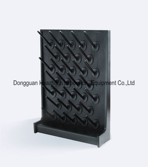 Customized PP Laboratory Drying Rack Water Drop Pegboard With Removable Sticks